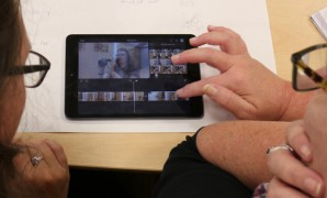 Editing with iMovie on an iPad