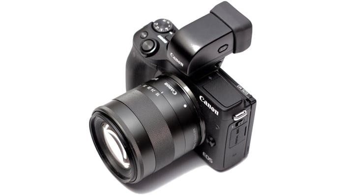 EOS-M3 with EVF