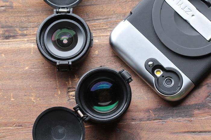 Ztylus Z-Prime lenses and case