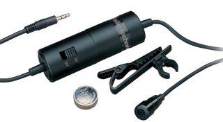 Audio-Technica ATR3350 lavalier microphone for iPhone