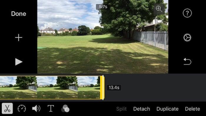 iMovie 2.2.3 iPhone