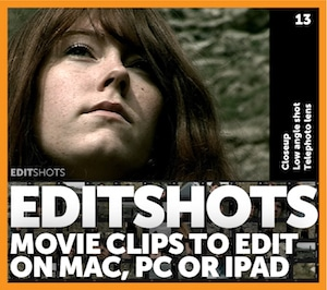 Editshots - movie clips to edit on Mac, PC or iPad