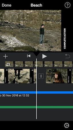 iMovie on iPhone