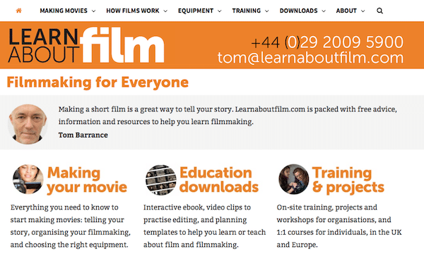 Learn About Film Filmmaking For Everyone