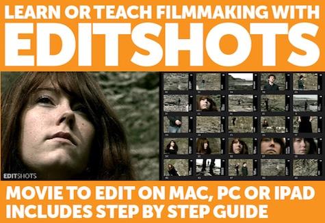 Editshots ad